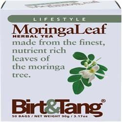 Birt & Tang Moringa Leaf Tea 50 Bag