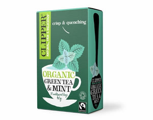 Clipper Organic Green & Mint 20 Tea Bags