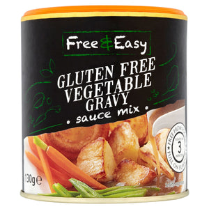 Free & Easy Gluten Free Vegetable Gravy Sauce Mix 130g