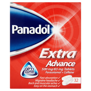 Panadol Extra Advance 500mg/65mg Tablets 32 Tablets