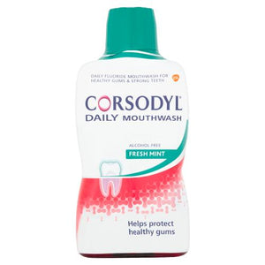 Corsodyl Daily Fresh Mint 500ml | Alcohol Free