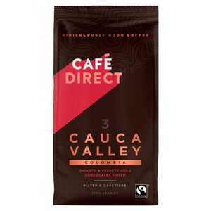 Cafedirect Cauca Valley  Colombia Fairtrade Ground Coffee 227g