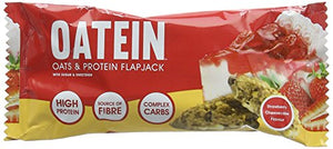Oatein Oatein Flapjack Bar 12 x 75g Strawberry Cheesecake