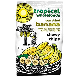 Tropical Wholefoods Chewy Banana Chips
