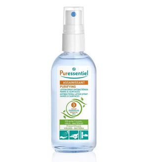 Puressentiel Antibacterial Lotion Spray Hands & Surfaces 80ml