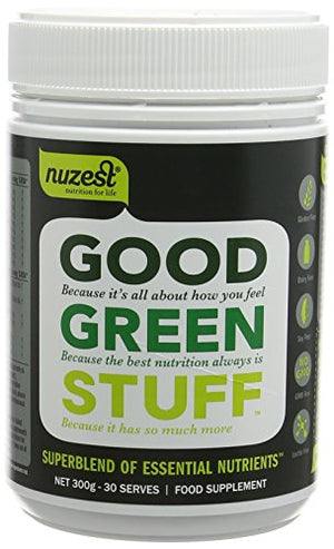 Nuzest Good Green Stuff 300g Refreshingly Natural