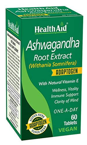 Health Aid Ashwagandha Root Extract - 60 Tablets