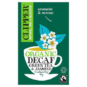 Clipper Organic Green Decaf & Jasmin 20 Tea bags