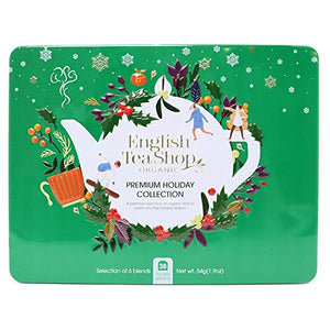 English Tea Shop Premium Holiday Collection Green Gift Tin