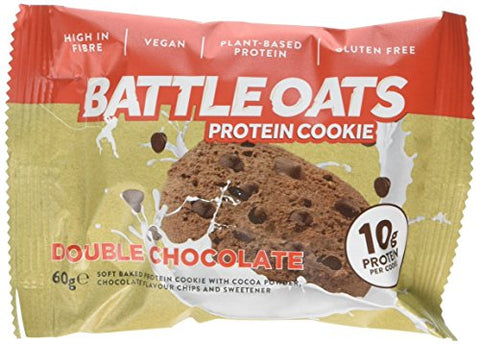 Battle Oats Battle Oats Protein Cookie 12x60g Double Chocolate