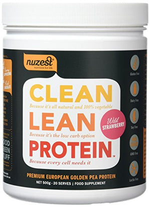 Nuzest Clean Lean Protein 500g Wild Strawbery