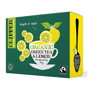 Clipper Organic Green Tea & Lemon | 80 Bags