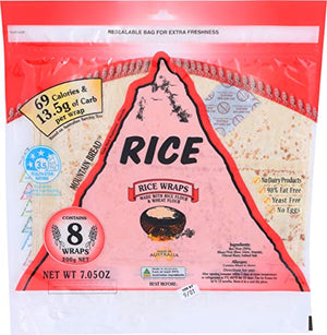Mountain Bread 70% Rice Wraps 200 g