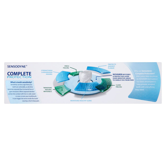Sensodyne Complete Protection Complete Daily Toothpaste 75ml