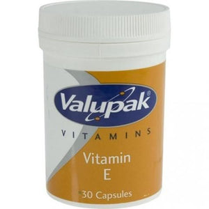 Valupak Vitamin E | 30 Capsules