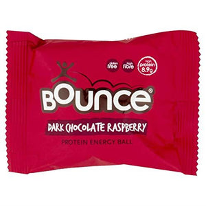 Bounce Dark Chocolate Raspberry Protein Energy Balls Box of 12