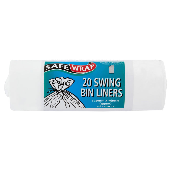 Safe Wrap 20 Swing Bin Liners