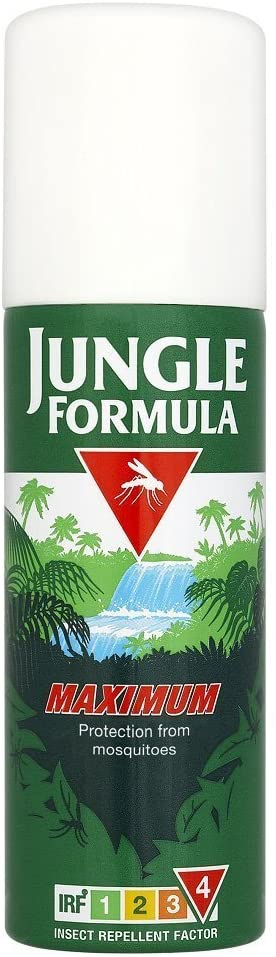 Jungle Formula Maximum Insect Repellent Spray with DEET 150ml
