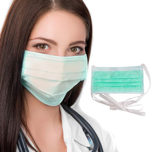 Multi Purpose Tie On Disposable Non Woven Face Mask