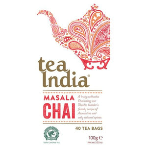 Tea India Masala Chai Teabags x40