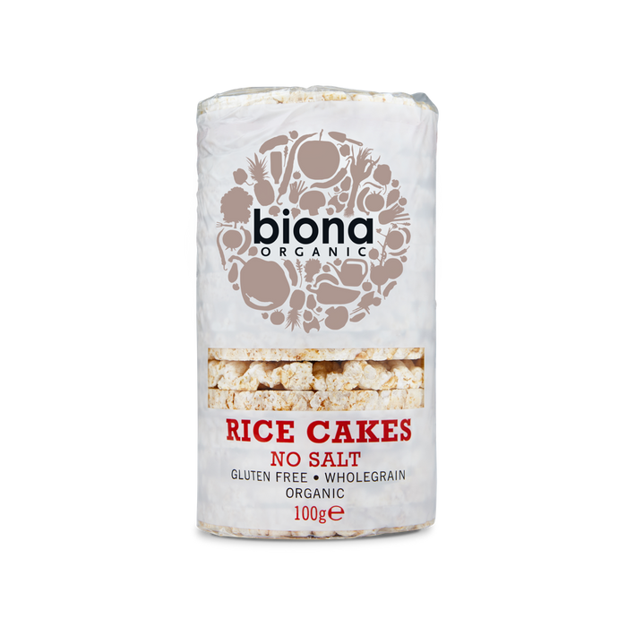 Biona Organic Rice Cakes - No Salt 100g