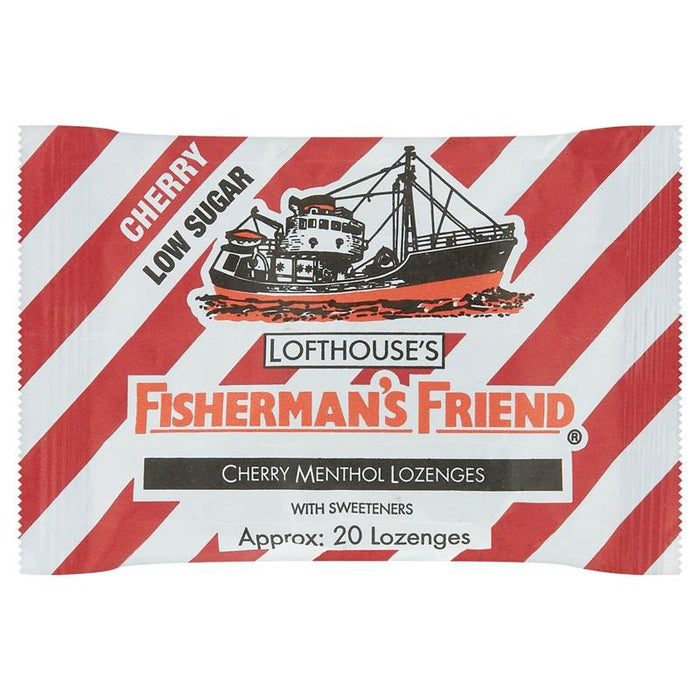 Fishermans Friend Loz Cherry 25G