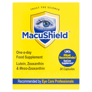MacuShield One-A-Day Food Supplement 30 Capsules | Eye Health
