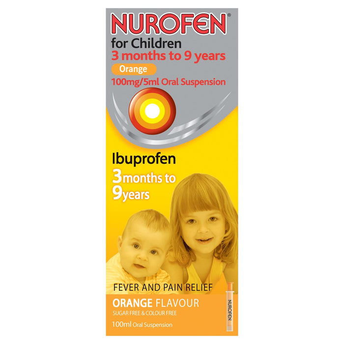 Nurofen for Children Orange 3 Months to 9 Years 5ml
