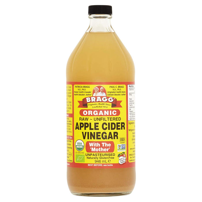 Braggs Organic Apple Cider Vinegar 946ml