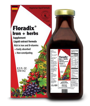 Floravital Liquid Iron and Vitamin Formula 250ml