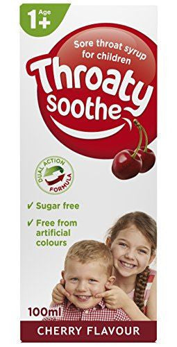Throaty Sooth Syrup Cherry 100ml