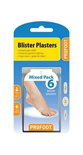 Profoot Mixed Blister Plaster
