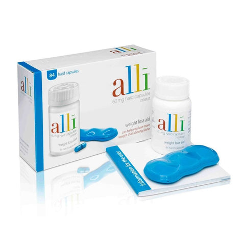 Alli Slimming Capsules 84 Tablets