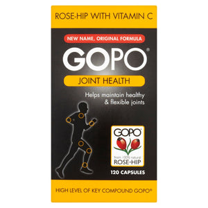 Gopo Rose-Hip with Vitamin C Joint Health 120 Capsules