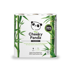 100% Bamboo Toilet Tissue 9 Pack
