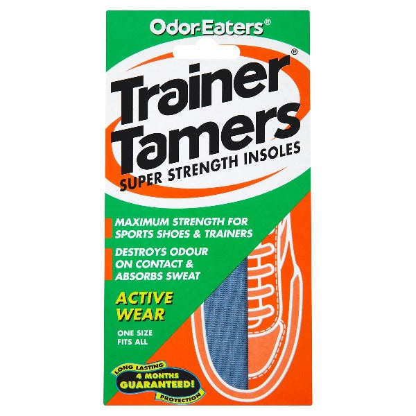 OdorEaters Trainer Tamers Super Strength Insoles