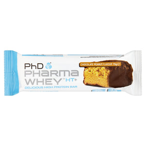 PhD Mass & Strength Pharma Whey HT+ Chocolate Peanut Flavour 75g