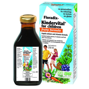 Floradix Kindervital for Children | Fruity Formula 250ml