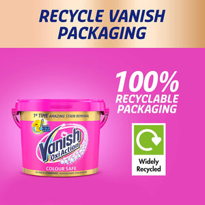 Vanish Gold Fabric Stain Remover Powder Pink 2.4kg