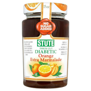 Stute Thick Cut Diabetic Orange Extra Marmalade 430g