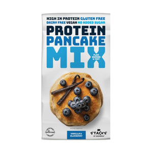 Stacks of Goodness Vanilla & Blueberry Protein Pancake Mix 200g