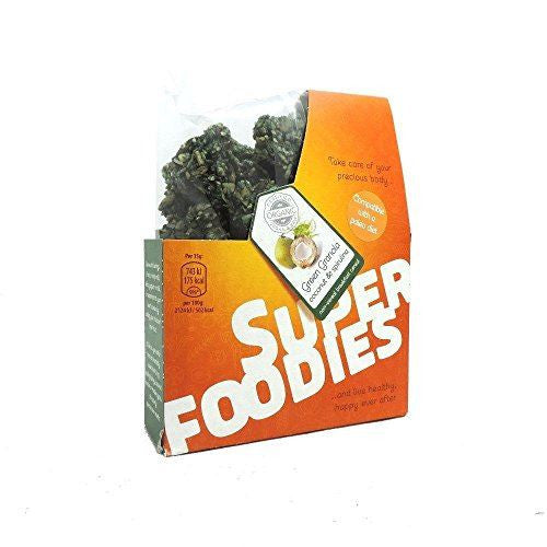 Superfoodies Green Granola 200 g