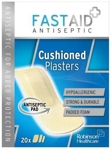 FASTAID+ ANTIBAC CUSH 20