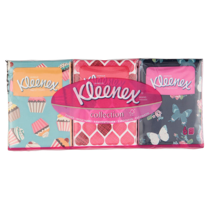 Kleenex Collection Tissues 6 Pack