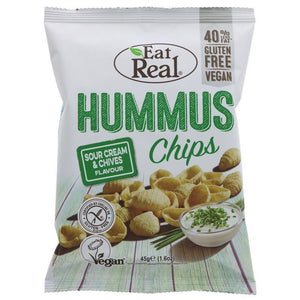 Eat Real Eat Real Hummus Chips Sour Cream & Chives