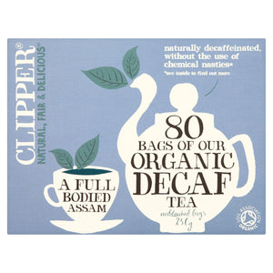 Clipper 80 Bags of Our Organic Decaf Tea 250g