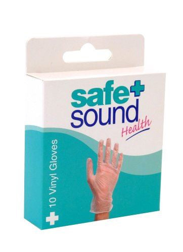 Safe&Sound Gloves Vinyl