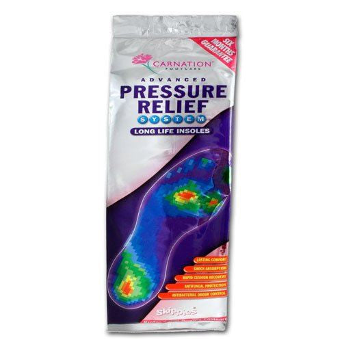 Carnation Pressure Relief Insoles