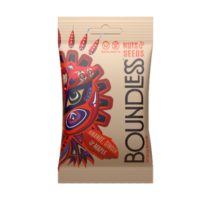 Boundless Orange Ginger & Maple Activated Nuts & Seeds 30g