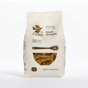 Freee by Doves Farm Gluten Free Organic Brown Rice Fusilli 500g